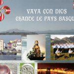 Pochette Vaya con dios chante le pays basque
